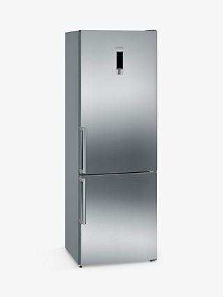 Siemens KG49NXI30 Freestanding Fridge Freezer, A++ Energy Rating, 70cm Wide, Stainless Steel