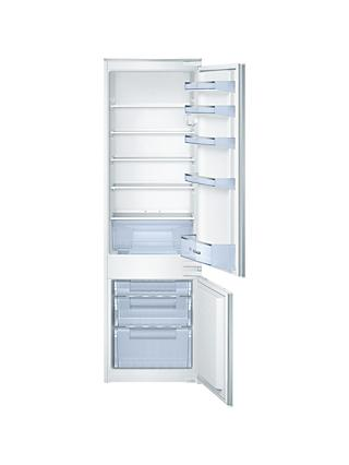 Bosch KIV38X22GB Integrated 70/30 Fridge Freezer, Sliding Door Hinge, A+ Energy Rating, 54cm Wide