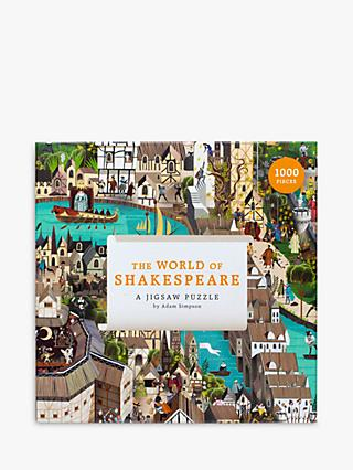 Laurence King Publishing World of Shakespeare Jigsaw Puzzle, 1000 Pieces