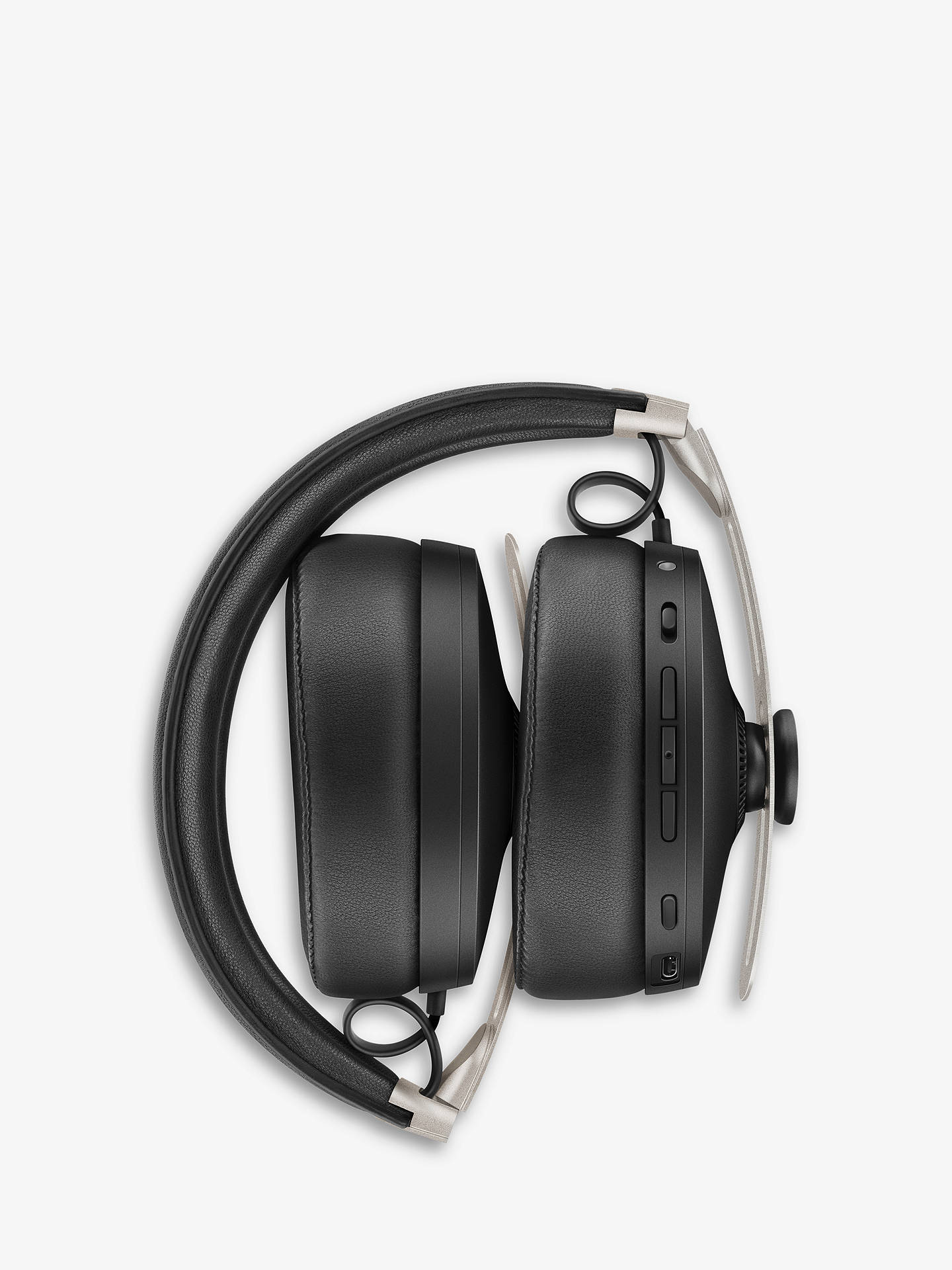 Buy Sennheiser Momentum Wireless (3.0) Noise Cancelling Bluetooth Over-Ear Headphones with Mic/Remote, Black Online at johnlewis.com