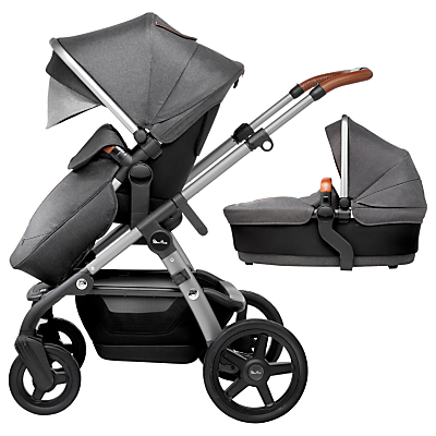 Silver Cross Wave Pram and Pushchair – Granite