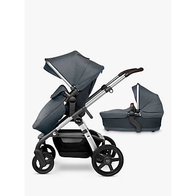 Silver Cross Wave Pram and Pushchair – Slate