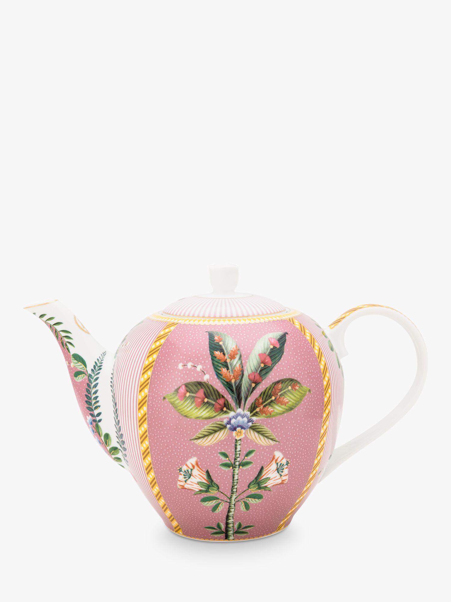 PiP Studio PiP Studio La Majorelle Large Teapot, 1.6L, Pink