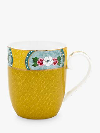 Pip Studio Blushing Birds Small Mug, 145ml, Yellow/Multi