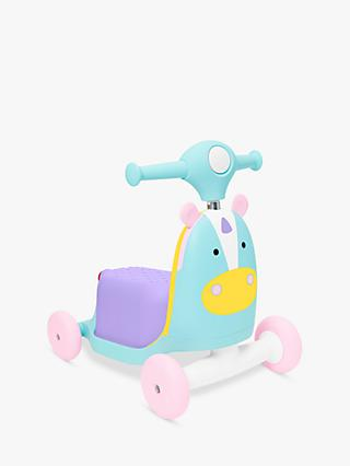 Skip Hop Zoo 3 in 1 Ride On Unicorn Toy