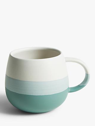 John Lewis & Partners Artisan Dipped Mug, 400ml