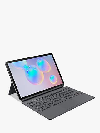 Samsung Galaxy Tab S6 Folio Keyboard Book Cover, Grey