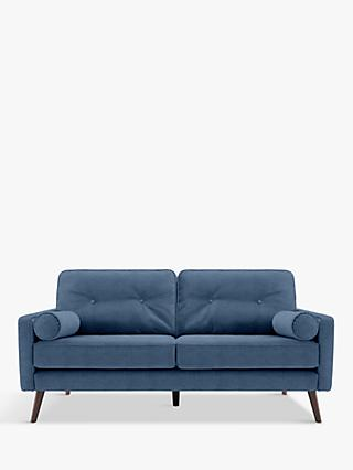 G Plan Vintage The Sixty Five Medium 2 Seater Sofa, Ash Leg, Deluxe Scuba Velvet