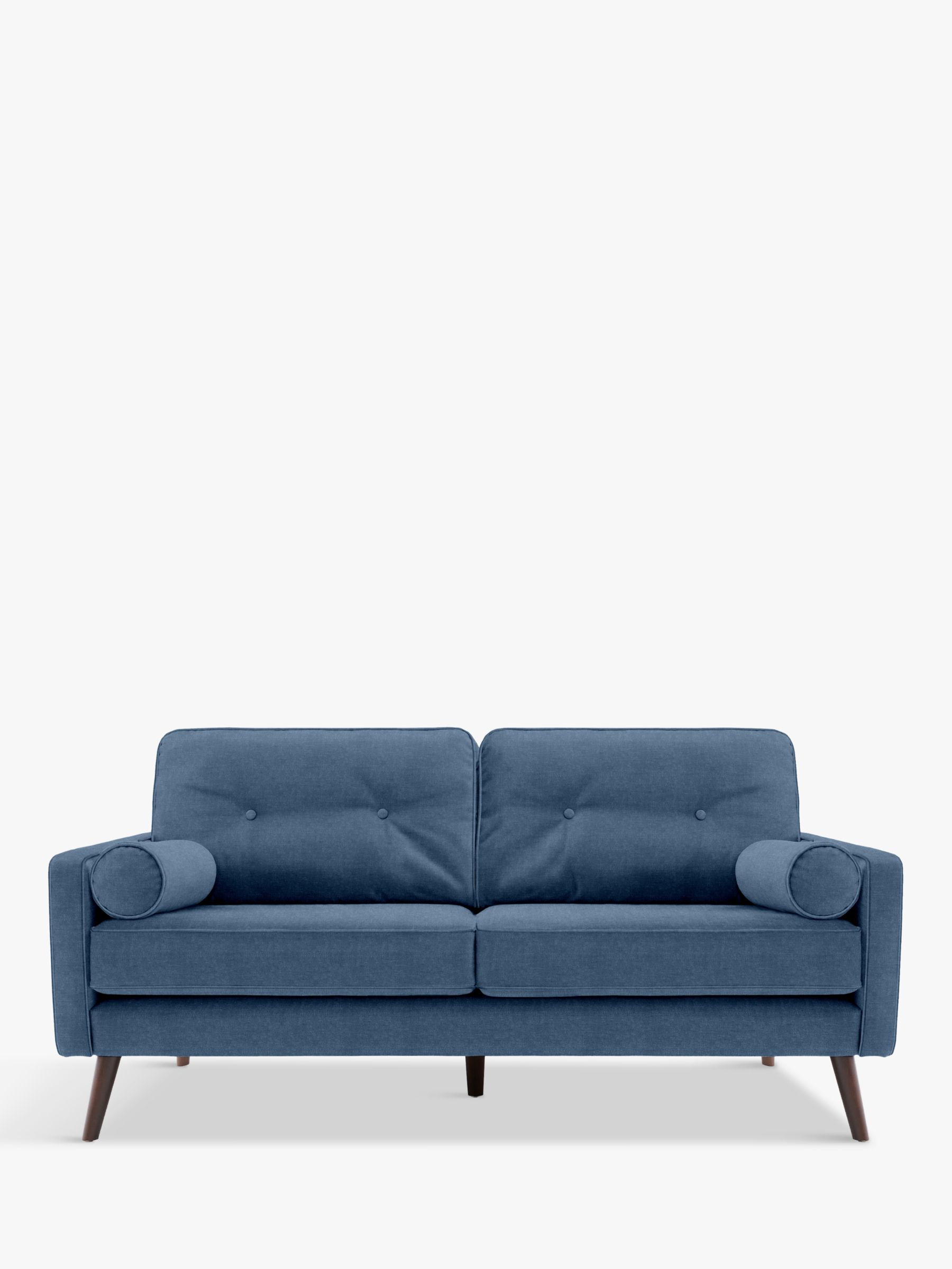 G Plan Vintage G Plan Vintage The Sixty Five Medium 2 Seater Sofa, Ash Leg, Deluxe Scuba Velvet