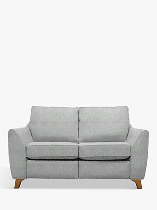 G Plan Vintage The Sixty Eight Small 2 Seater Sofa with Footrest Mechanism, Sorren Grey