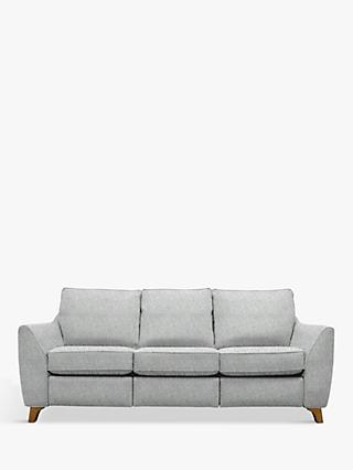 The Sixty Eight Range, G Plan Vintage The Sixty Eight Large 3 Seater Sofa with Footrest Mechanism, Sorren Grey