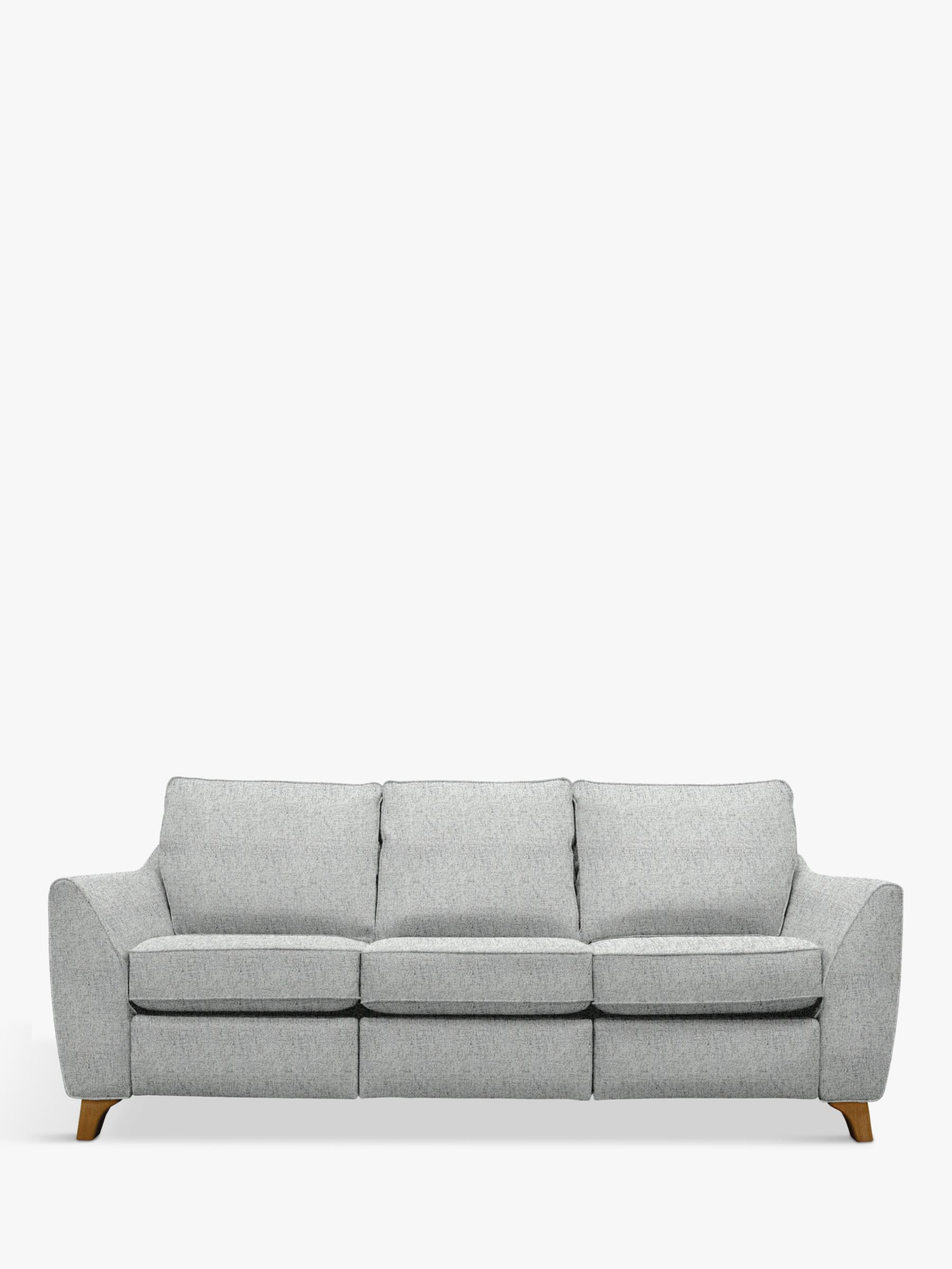 G Plan Vintage G Plan Vintage The Sixty Eight Large 3 Seater Sofa with Footrest Mechanism, Sorren Grey