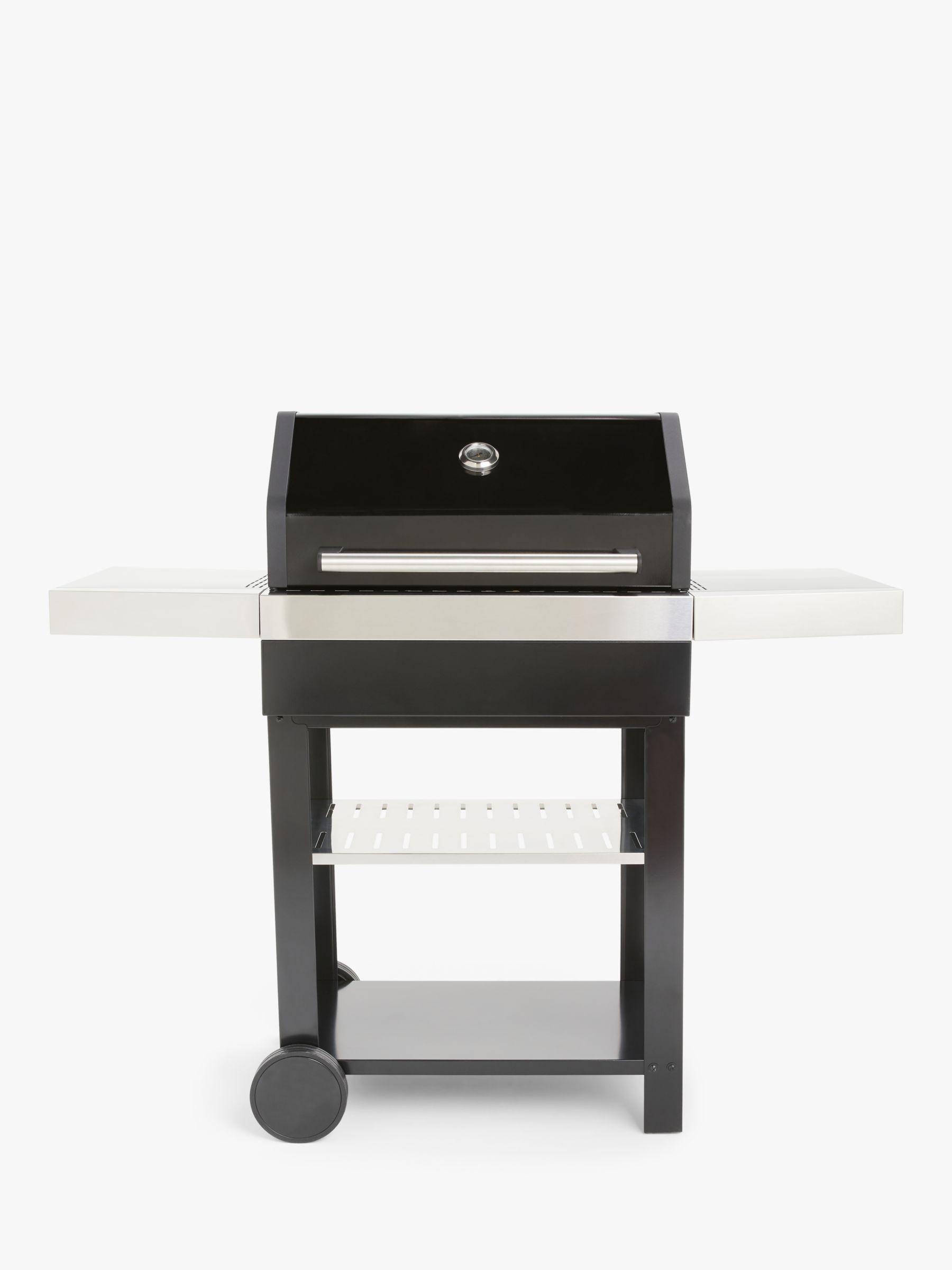 John Lewis & Partners Charcoal BBQ, Black