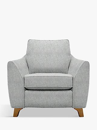 G Plan Vintage The Sixty Eight Armchair with Footrest Mechanism, Sorren Grey