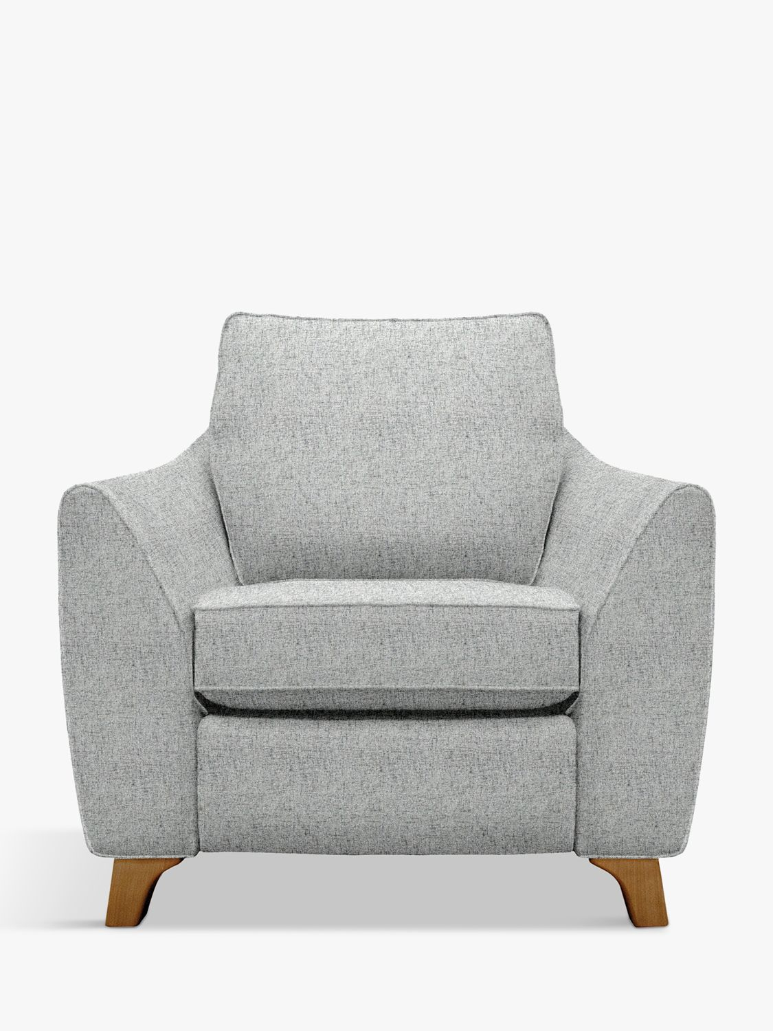 G Plan Vintage G Plan Vintage The Sixty Eight Armchair with Footrest Mechanism, Sorren Grey