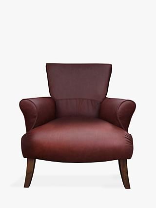 Tetrad Tulla Leather Armchair, Highland Hickory