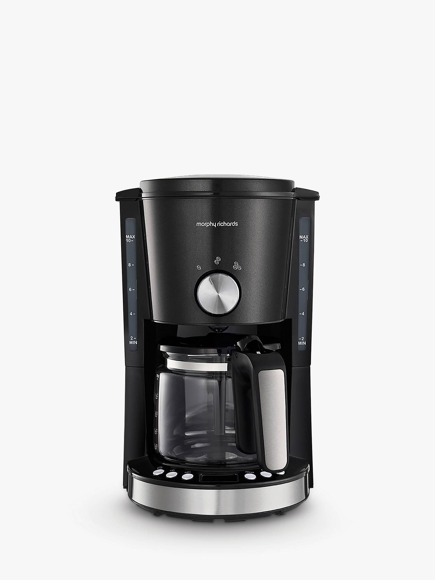 Morphy Richards Evoke Filter Coffee Machine Black