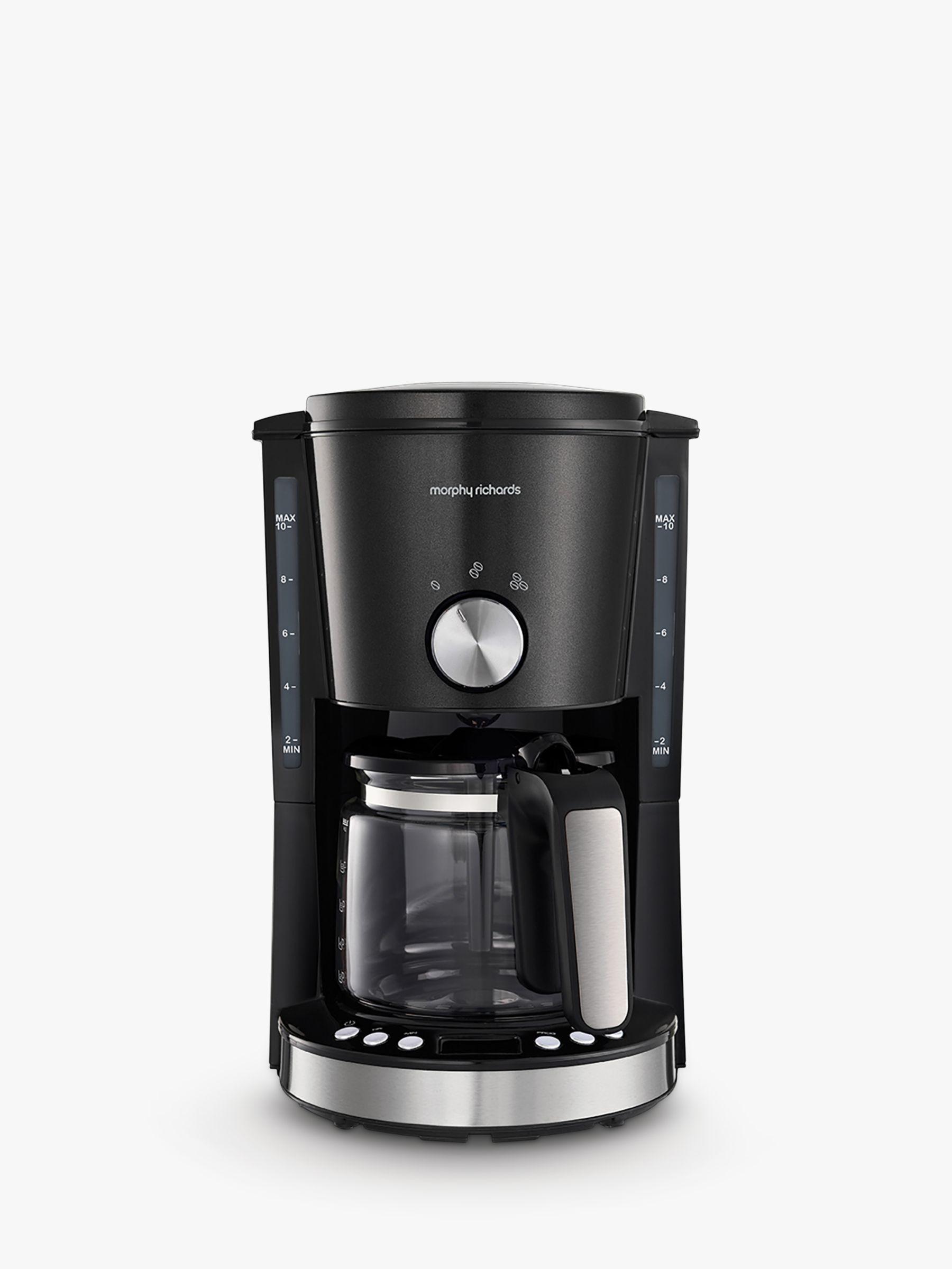 Morphy Richards Morphy Richards Evoke Filter Coffee Machine, Black