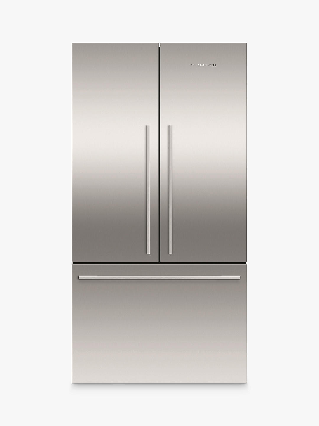 Buy Fisher & Paykel RF610ADJX5 American Style Freestanding 3-Door 70/30 Fridge Freezer, Stainless Steel Online at johnlewis.com