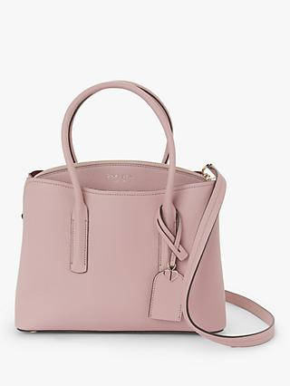 kate spade new york Margaux Leather Medium Satchel, Pressed Flowers