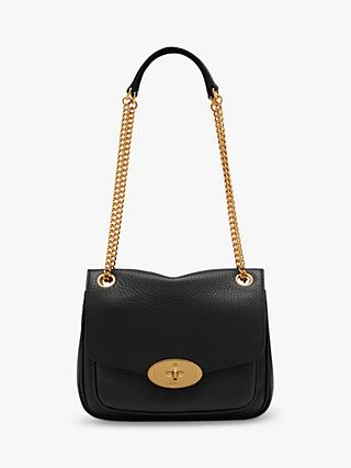 Mulberry Small Darley Heavy Grain Leather Shoulder Bag