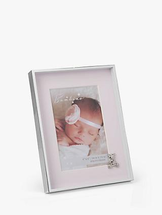 Bambino Baby Teddy Photo Frame, 4 x 6 inches