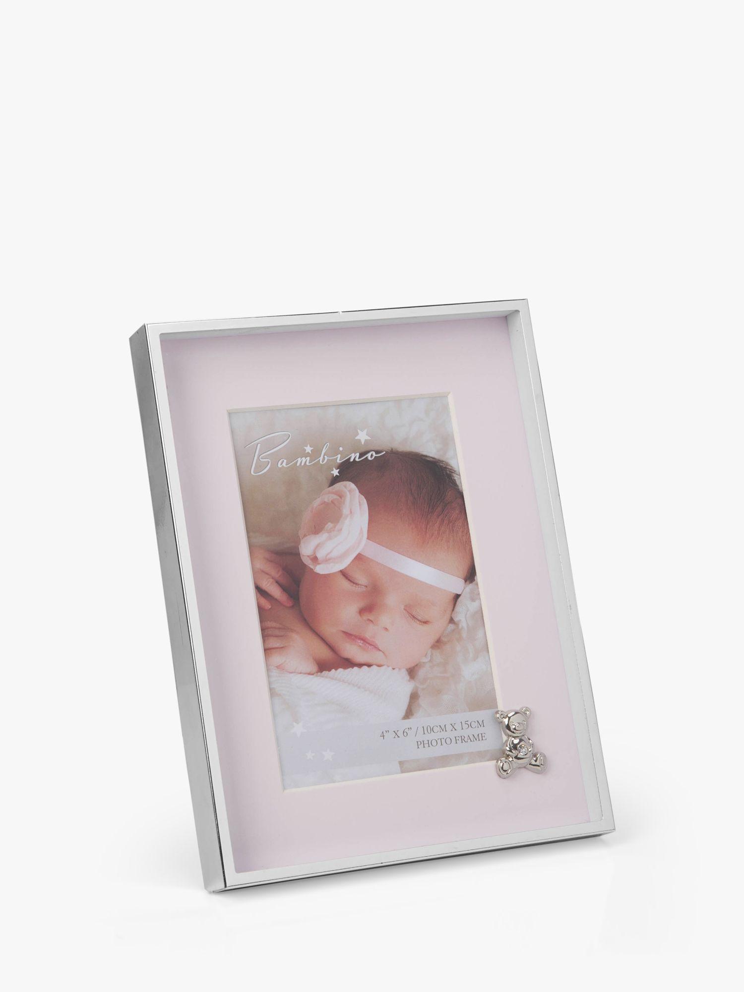 Bambino Bambino Baby Teddy Photo Frame, 4 x 6 inches