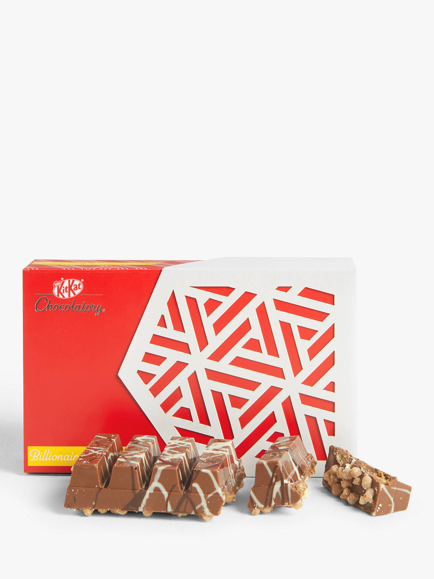Buy KitKat Chocolatory Billionaire's Treasure, 6 Finger Pack, 74g Online at johnlewis.com
