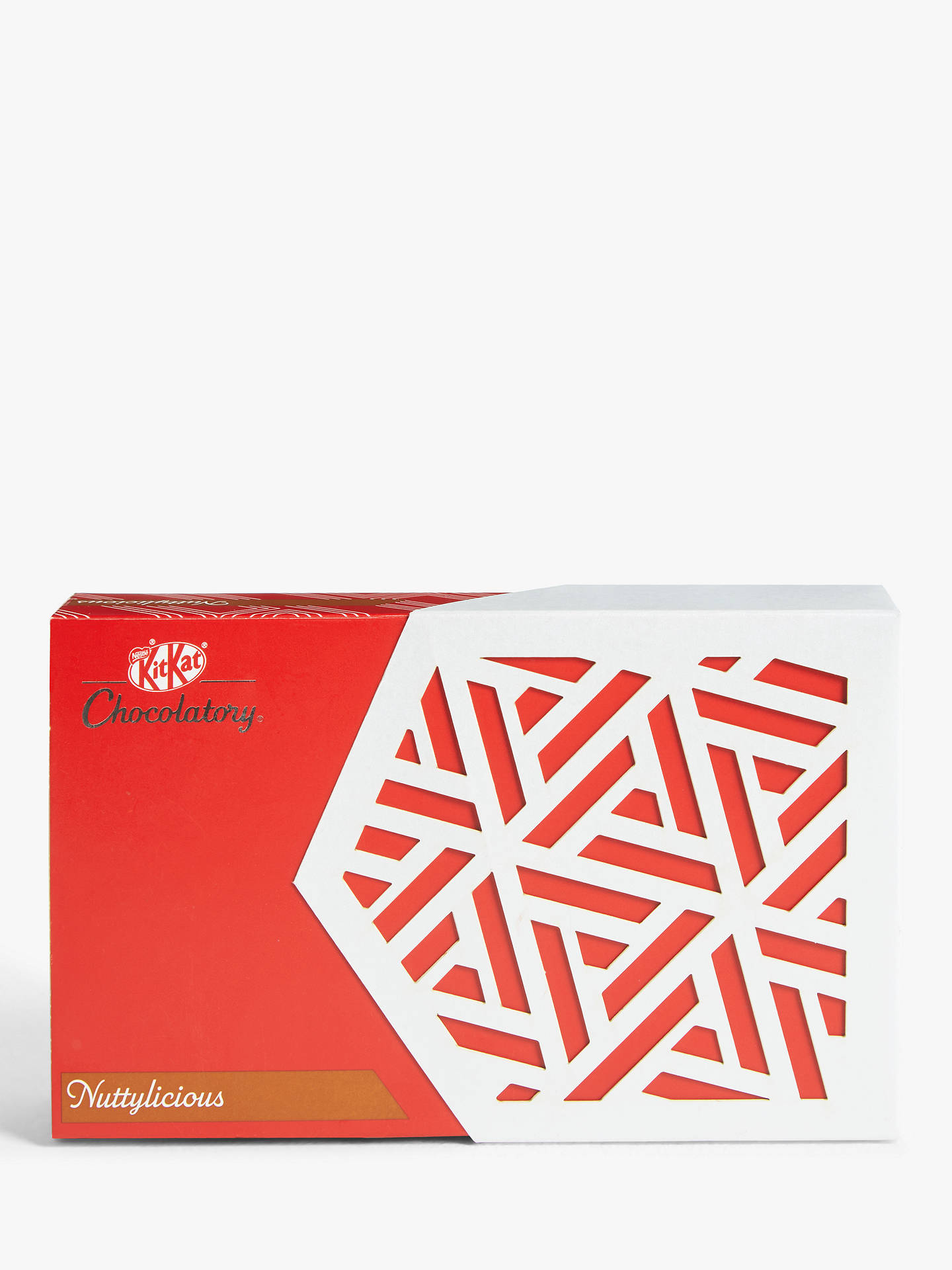 Buy KitKat Chocolatory Nuttylicious, 6 Finger Pack, 76g Online at johnlewis.com