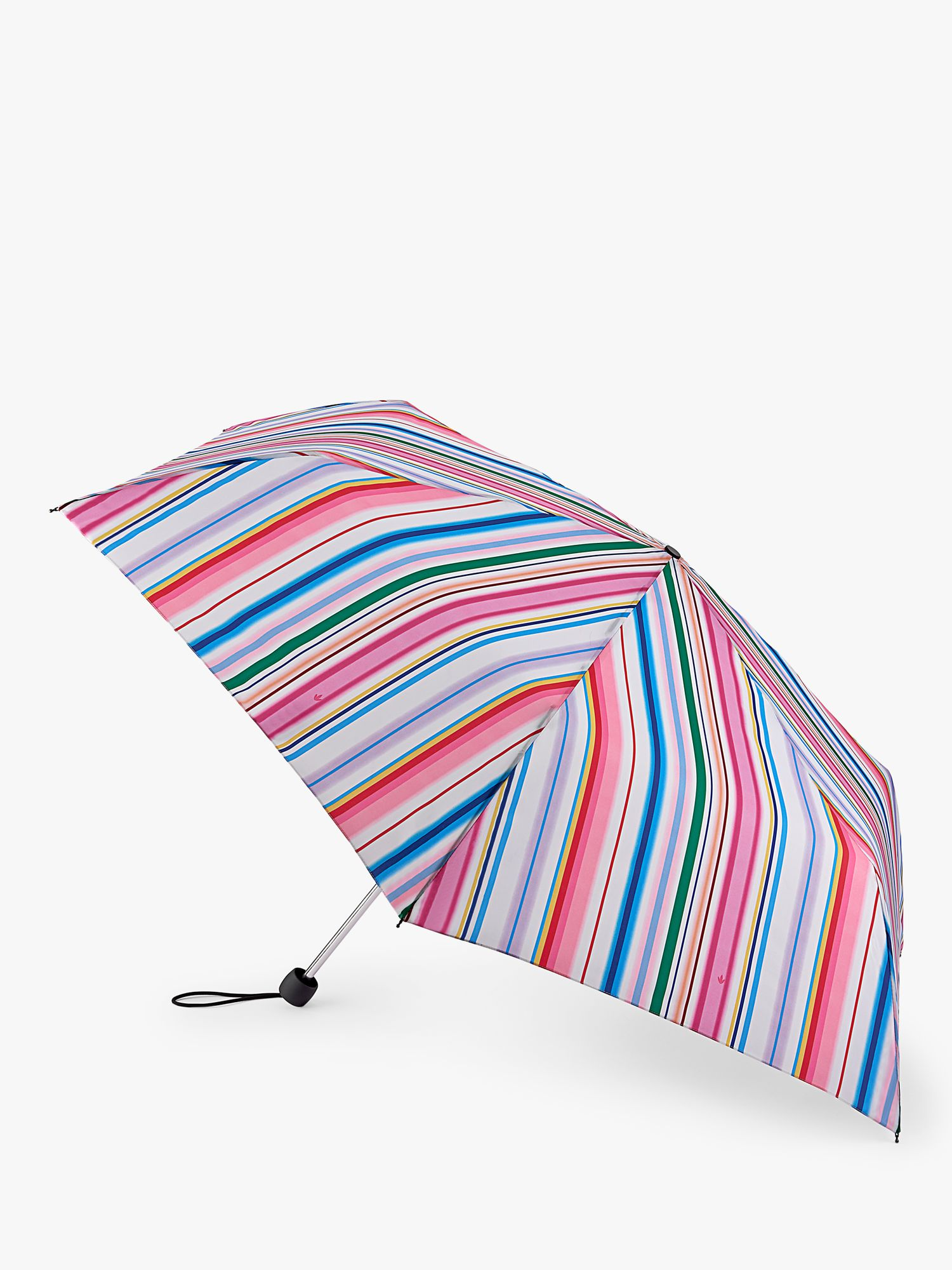 Fulton Fulton Funky Stripe Extra Slim Umbrella, Multi