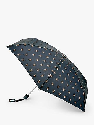 Fulton Cats Folding Umbrella, Black