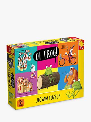 Kes Grey Oi Frog! Jigsaw Puzzle, 35 Pieces