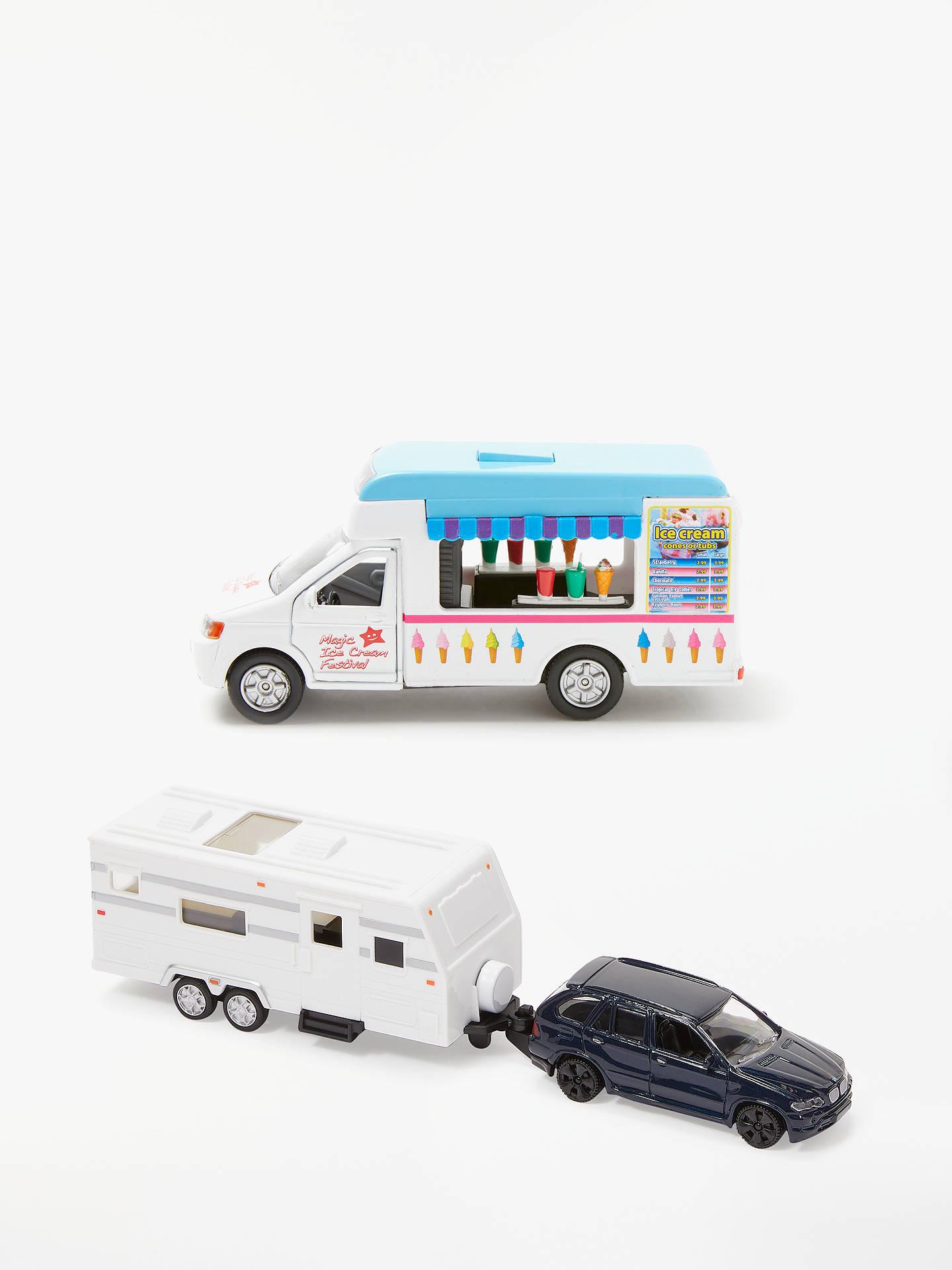 John Lewis & Partners Musical Ice Cream Van at John Lewis