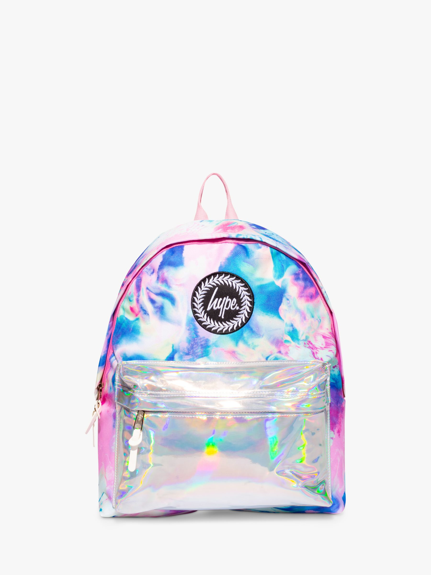 Hype Hype Children's Dream Wave Holographic Backpack, Pink