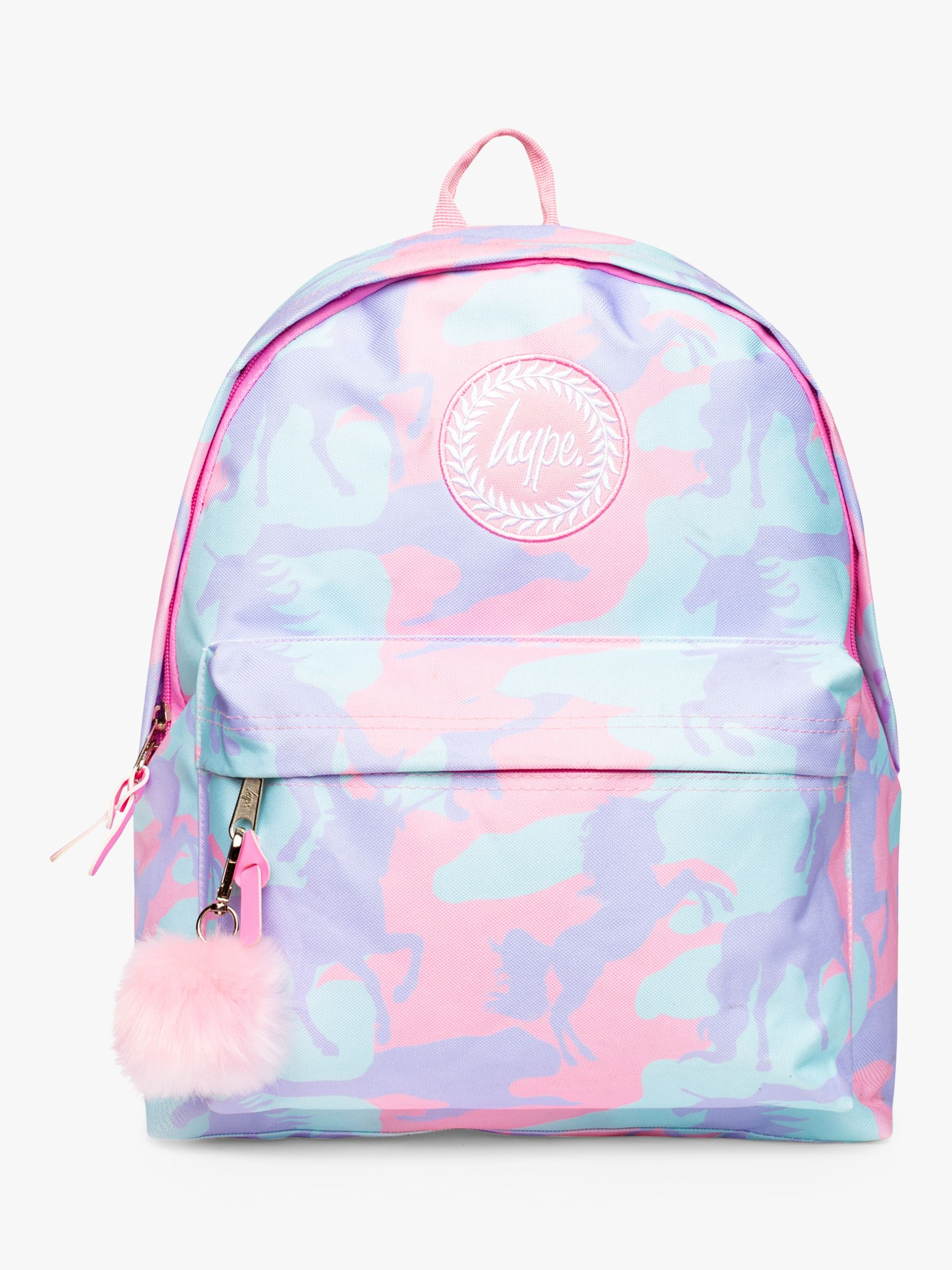 Hype Hype Children's Unicamo Backpack, Pink
