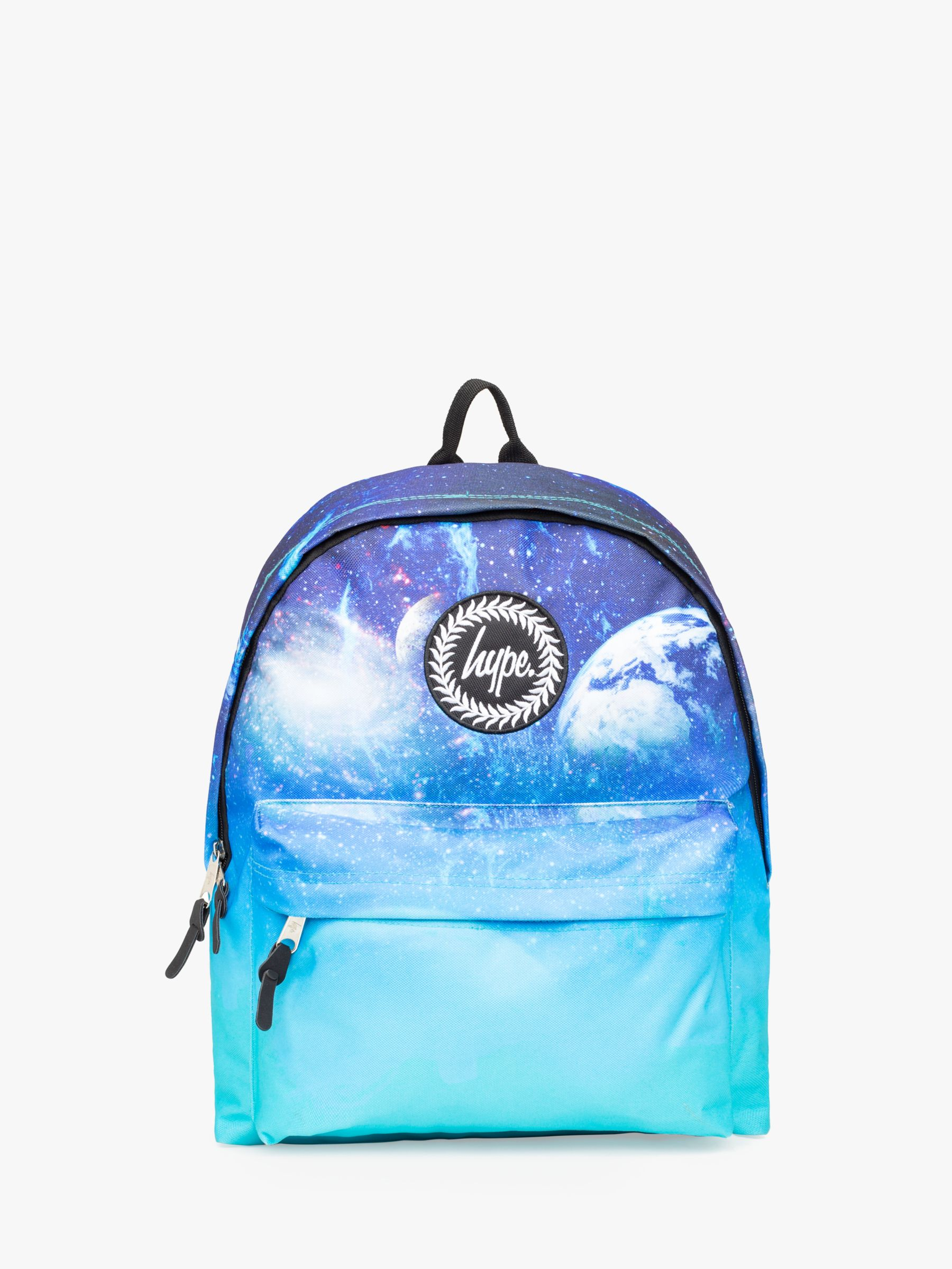 Hype Hype Children's Faded Space Backpack, Blue