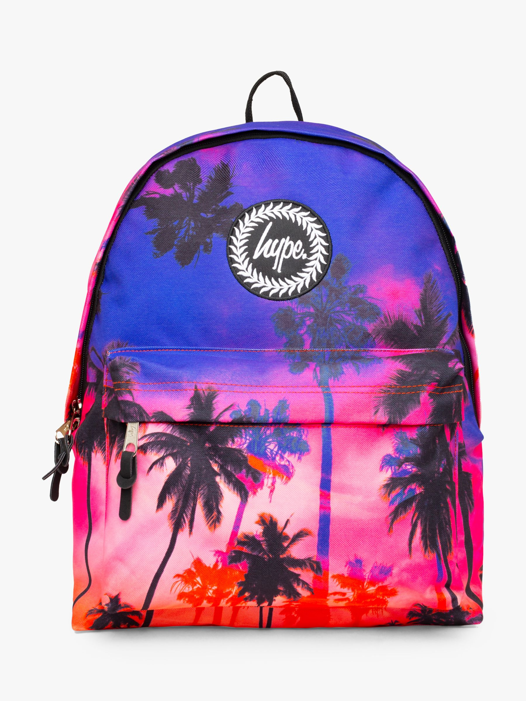 Hype Hype Children's Sunset Palm Backpack, Purple