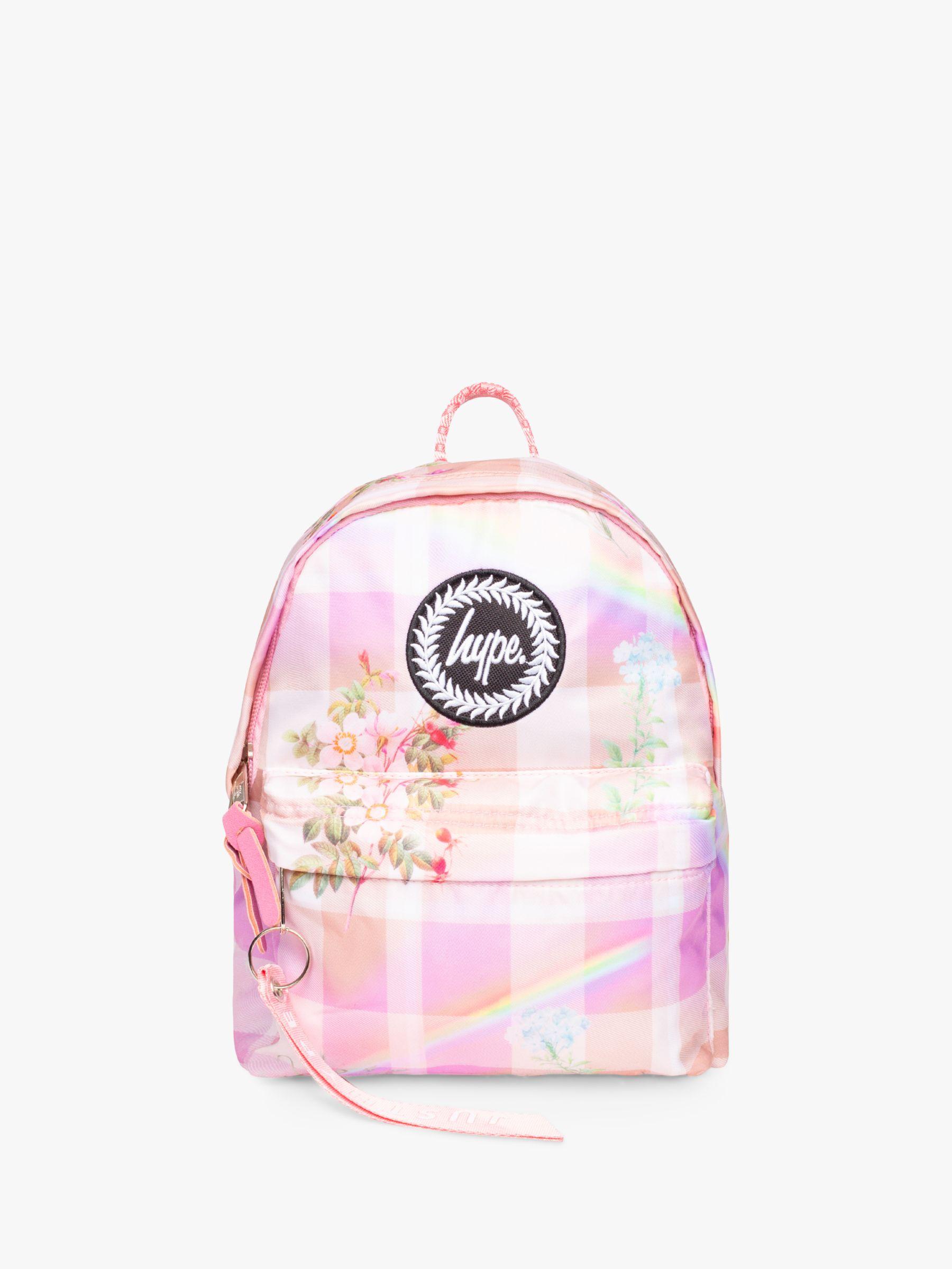 Hype Hype Children's Mini Check Backpack, Multi