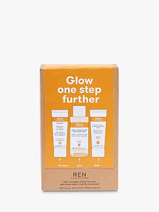 REN Clean Skincare Glow One Step Further Radiance Skincare Gift Set