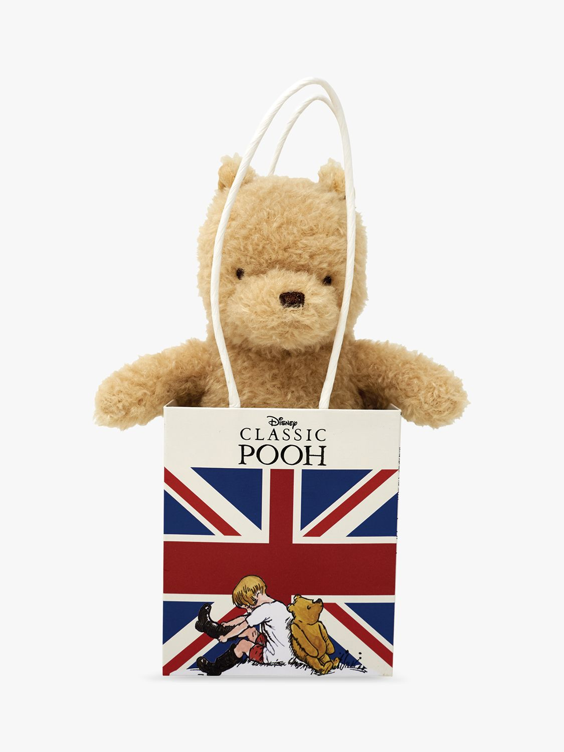 Winnie the pooh Winnie the Pooh Classic Pooh in the Union Jack Soft Toy