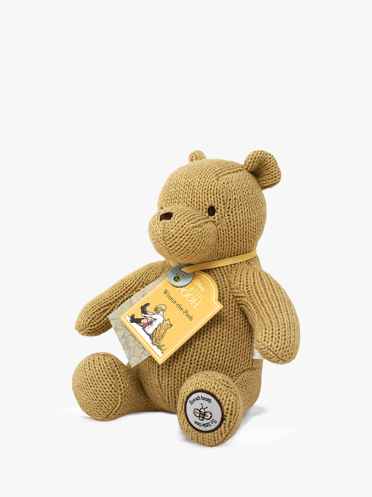 Buy Winnie the Pooh Made With Love Baby Soft Toy Online at johnlewis.com