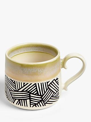 John Lewis & Partners Reactive Glaze Small Mug, 375ml