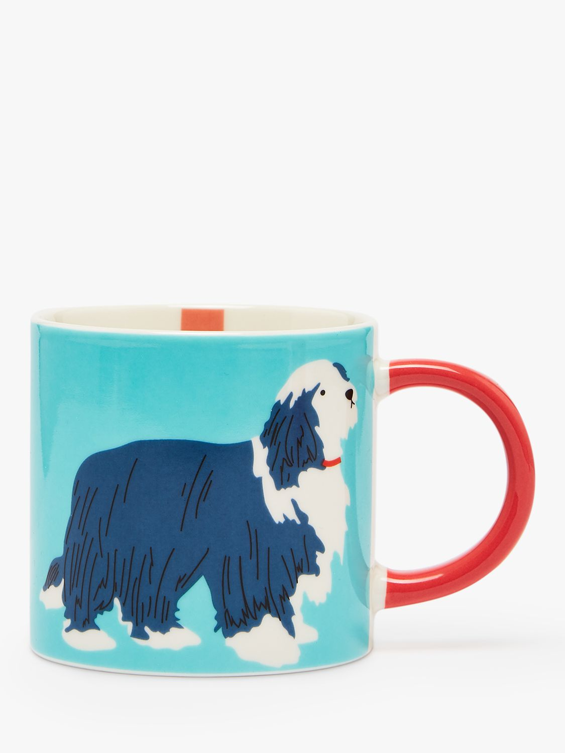 Joules Joules Paws Off Dog Mug, 300ml, Blue/Multi