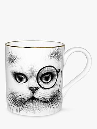 Rory Dobner Cat Monocle Majestic Mug
