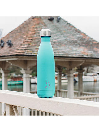 Buy Chilly's Vacuum Insulated Leak-Proof Drinks Bottle, 500ml, Pastel Green Online at johnlewis.com