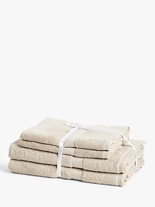 ANYDAY John Lewis & Partners Colour Defence 4 Piece Towel Bale