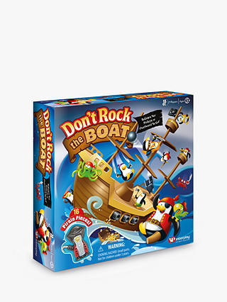 Buy Don't Rock The Boat Board Game Online at johnlewis.com