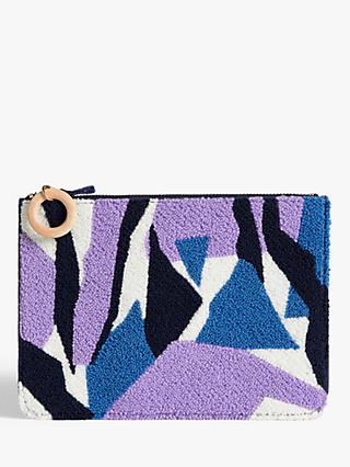 John Lewis & Partners Makalu Textured Pouch Bag