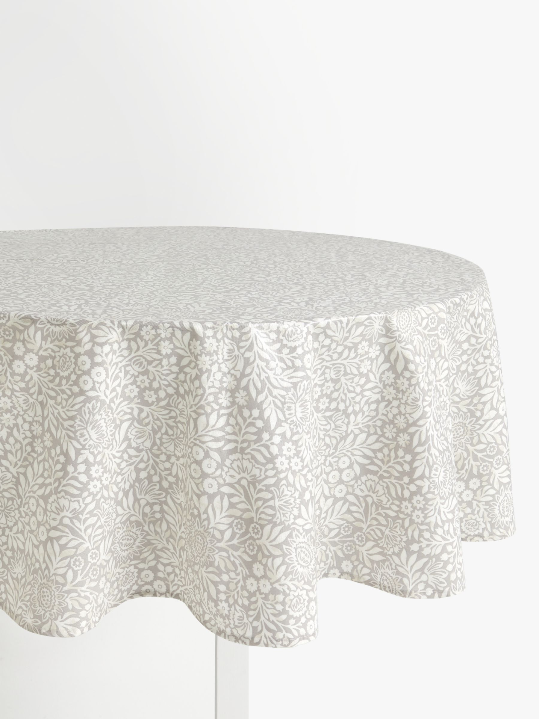 Tablecloths Grey Table Linens John Lewis Partners