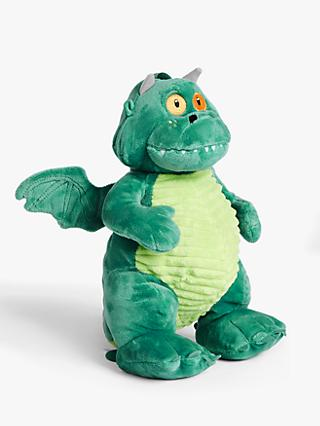 Excitable Edgar Plush Soft Toy, Green